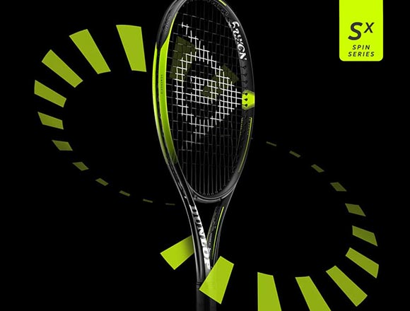SX Rackets.  Spin Series