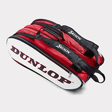 12 Racquet Bag,Red / White / Black