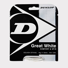 Great White 18g Squash String Set,