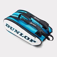 12 Racquet Bag,Blue / White / Black