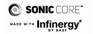 Sonic Core made with Infinergy