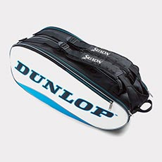 8 Racquet Bag,Blue / White / Black