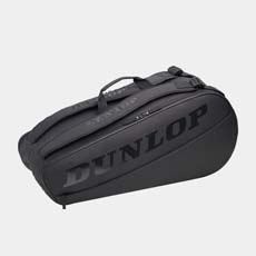 CX CLUB 6 RACKET BAG,Black/Black