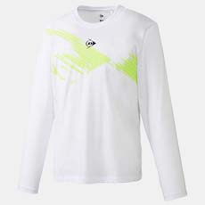 Club Long Sleeve Shadow,White